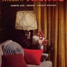 Coats Clark 303 Modern Trends Crochet Hairpin Lace Swedish Weaving Pattern 1954