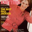 VOGUE KNITTING Fall 1996 Jacket Coat Long Short Sweater Cables Kids Hat Patterns
