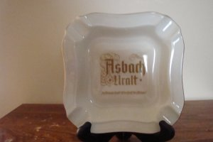Asbach Brandy Ashtray - Heinrich Germany