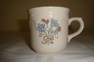 Vintage Corella Collection Bluet Stoneware Cups (2)
