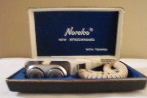 Vintage Norelco Speed Shaver With Trimmer