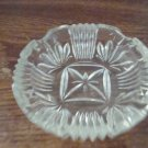 Vintage Heavy Crystal Ashtray