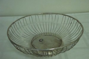 Godinger Silverplated Fruit or Bread Basket