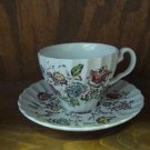 VINTAGE JOHNSON BROS. STAFFORDSHIRE BOUQUET
