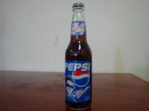 PEPSI RACING JEFF GORDON NASCAR #24 BOTTLE UNOPENED
