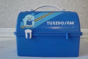 VINTAGE SANRIO 1983 TUXEDO SAM LUNCH BOX