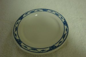 CARIBE CHINA PUERTO RICO BREAD & BUTTER PLATE SET OF 2