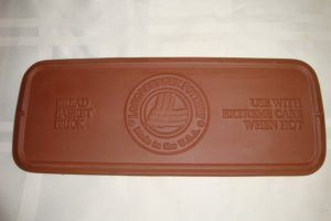 LONGABERGER POTTERY BREAD BASKET BRICK