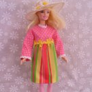 Barbie Doll Clothes Handmade Dress