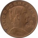 1968 Cinco Centavos