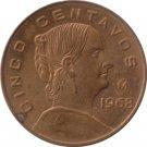 1968 Cinco Centavos