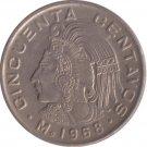 1968 Cincuenta Centavos
