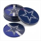 37332 Dallas Cowboys Tin Coaster Set