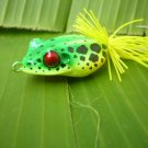 Handmade : Small Red Eyed Frog TopWater Fishing Lure #REBP