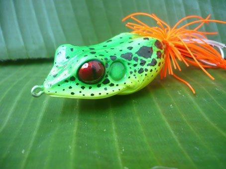 Handmade : Giant Frog TopWater Fishing  Lure #REC