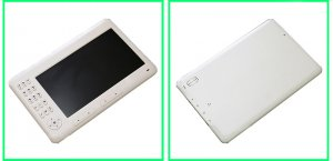 NEW!!- 7 inch eReader with cpaper technology and plays Music and Videos too!