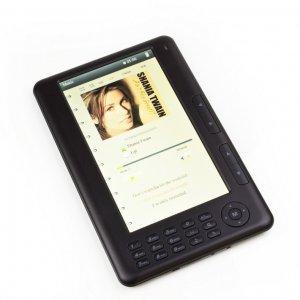 7 inch 4GB Colour eBook Reader -Video MP3 4GB 4G, photo viewer, PDF TXT Html MKV/ wav recording!