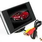 "3.5"" TFT LCD Car Rear View Color Camera Monitor"