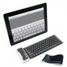 Bluetooth Wireless Flexible Silicone Keyboard for iPhone 4/5 iPad Tablet Android