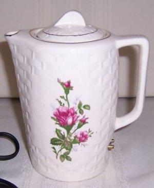 Moss Rose Electric Tea Pot