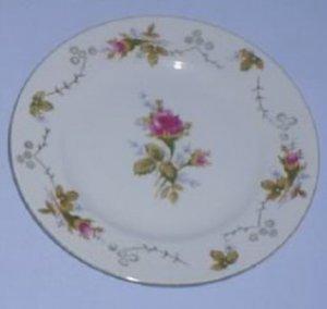 Moss Rose Matching Plates