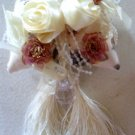 Pillow Ribbon Rose Silk Curtain Tiebacks (Pair)
