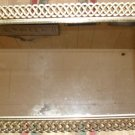 Gold Filigree Dresser/Vanity Tray