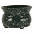 Green Marble 2 Piece Flameless Electric Candle / Tart Warmer