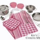 Kid's 12 Piece Cooking Set - Just Like Moms