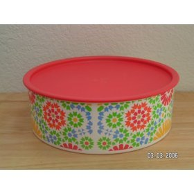 Tupperware Kaleidoscope Canister
