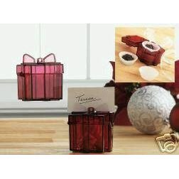 Tupperware Holiday Ornament/Place Card Holders/Gift Box