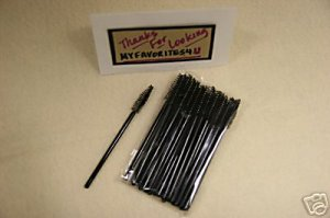 MARY KAY 25 Disposable Deluxe Mascara Brushes ~NIP~