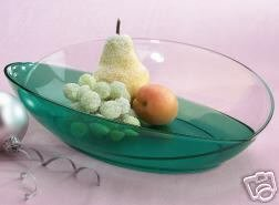 Tupperware Sheerly Elegant Emerald Butterfly Platter