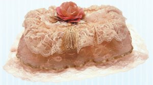 Vintage Victorian Lace Tissue Box Cover ATC 75