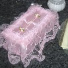 Large Lace Tissue Box Cover ATC-79