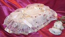 Vintage Victorian Lace Tissue Box Cover ATC 50