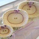 Baby Nursery Organizer  Baskets LB39- Candelight-Cream Set of Three