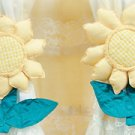 Children Curtain Tie Backs - SUNFLOWERS  CT 29