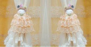 Children Curtain Tie Backs - Victorian Doll CT 25