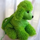 Poodle Handbag Purse for Children - Green Large PB23