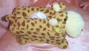Children Tissue Box Cover Large-Giraffe  CTC 28
