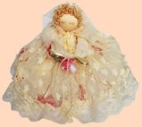 Small Lace Roll Cover RC-24 Victorian Doll