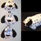 Set of Children Dalmatian tissue box cover and hanging bag
