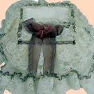 Vintage Victorian Lace Tissue Box Cover ATC 77- Small