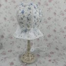 Vintage victorian style shabby chic antique lamp VL32 blue or pink