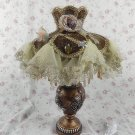 Vintage victorian style shabby chic antique lamp VL24
