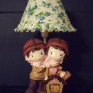Kids boy girl nursery décor resin table accent lamp night light NEW DF23-L