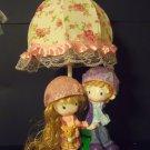 Kids boy girl nursery décor resin table accent lamp night light NEW DF-24