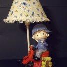 Kids boy girl nursery décor resin table accent lamp night light NEW SF-23-M