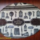 """The Powder Room"" vintage shabby chic bath wall plaque VS36"